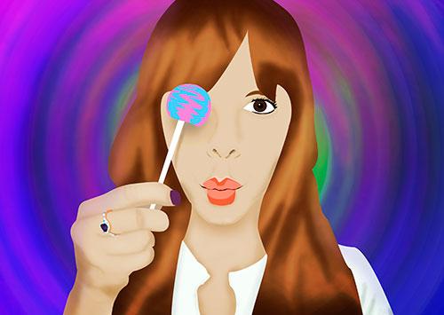 Lollypop-girl