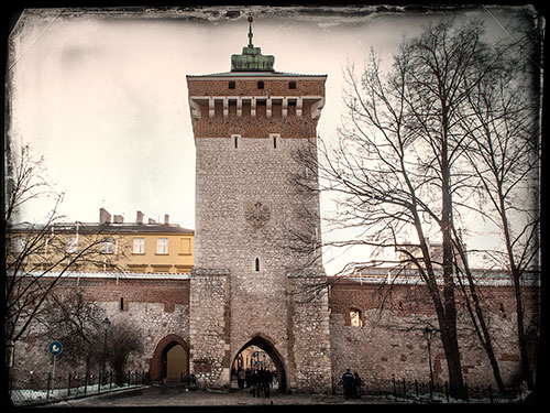 Krakow-city-gate