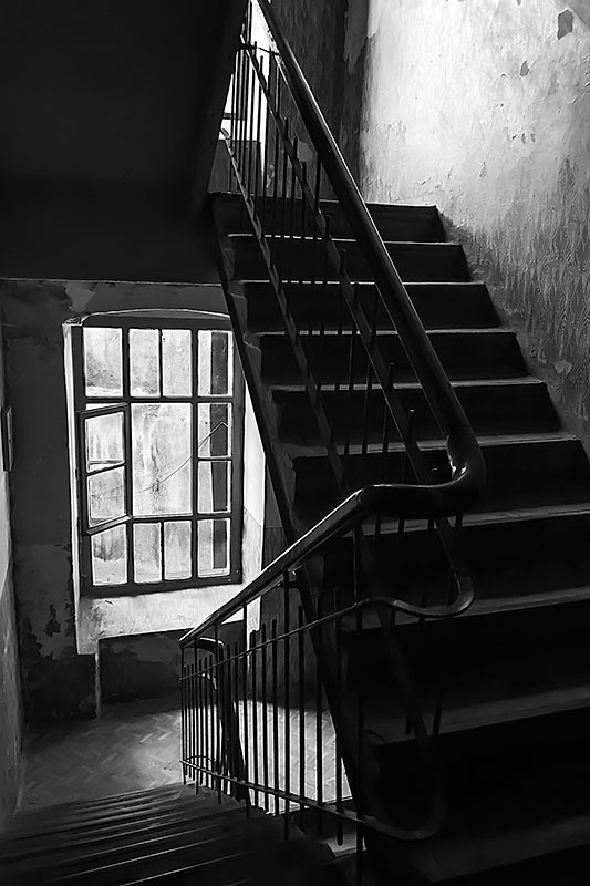 Up-and-down-stairs-BW