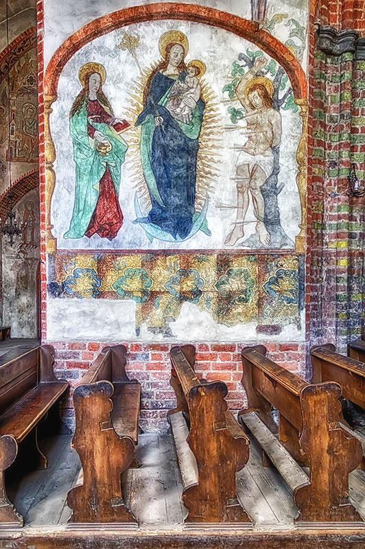 St-James-Chruch-Torun-Fresco