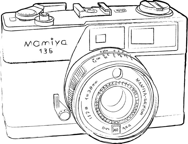 Camera Sketch final sketch