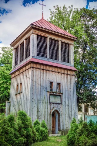 Bell Tower St Joseph Church Lodz