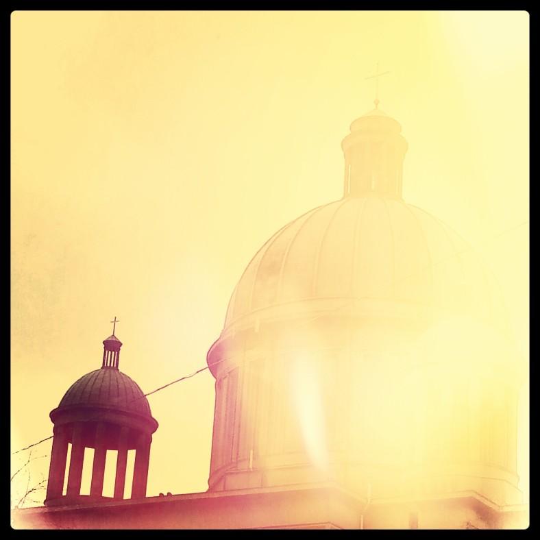 instagram sunburnt church