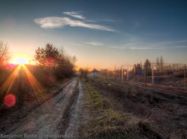 HDR Sunset Lodz