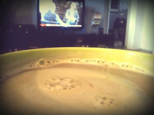 It was 9.30 watching @BBCWorld while having my morning #coffee #1day12pics with #Pixlr