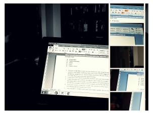 11.30 proof reading @mommyemu @mommblog posts #1day12pics Made with #Pixlr