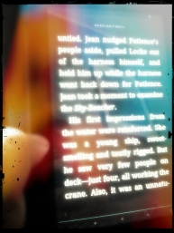 """15.30 reading, @scottlynch78 """"Republic of Thieves"""" #1day12pics Made with #Pixlr"""