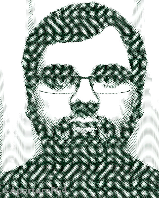 Hlftone-self-portrait