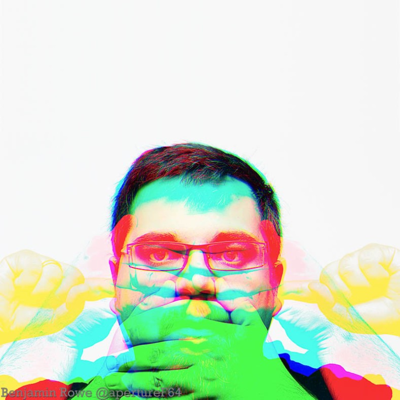 Harris Shutter Effect Self Portrait