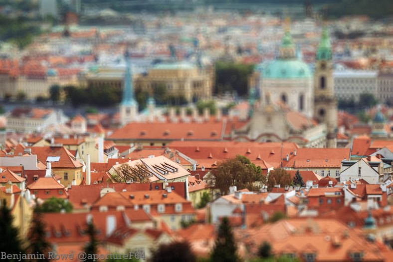 Prague Tilt Shift