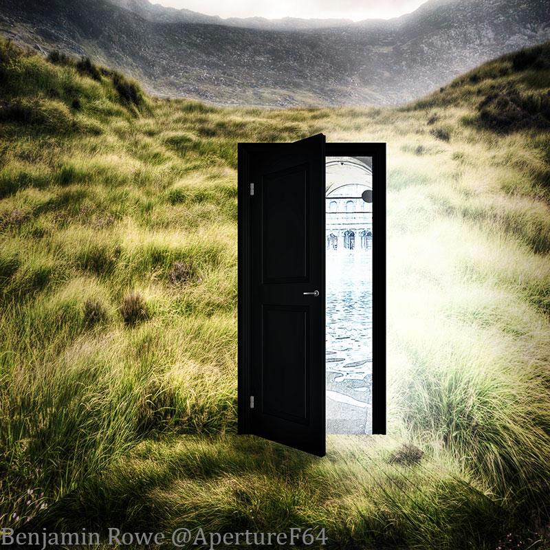 Unfound-Door & Photoshop Sunday; Unfound Door | Aperture64
