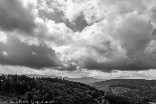 View from Chojnik Castle 4