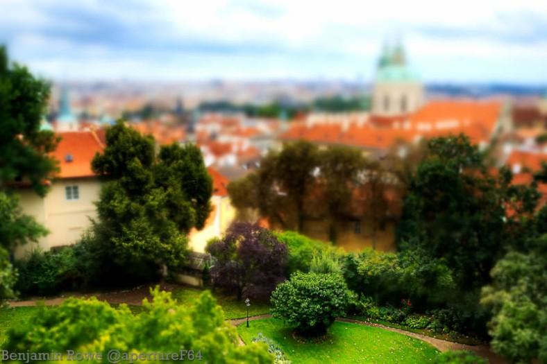 Prague Tilt Shift Blur