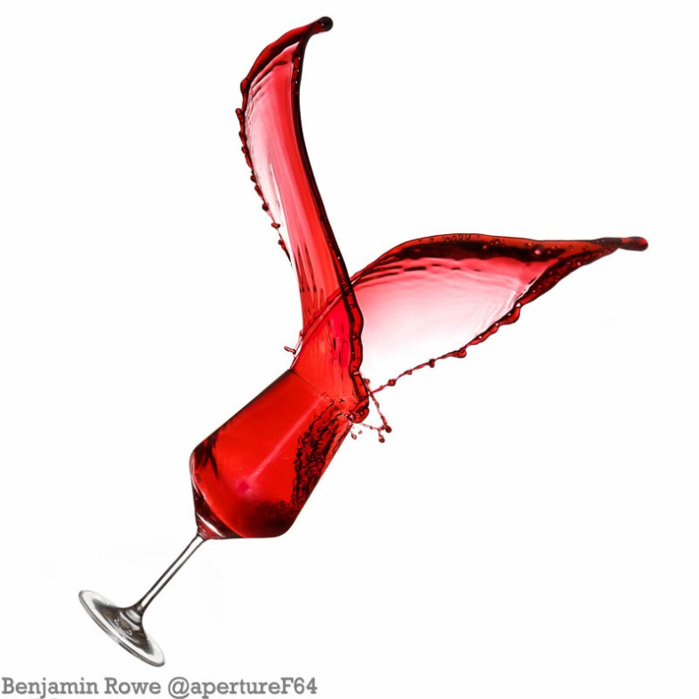 Wine Splash Valentines Day