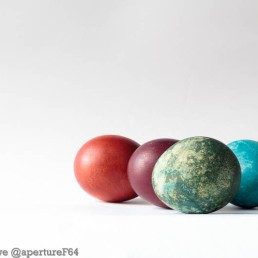 Complementatry Dyed Eggs