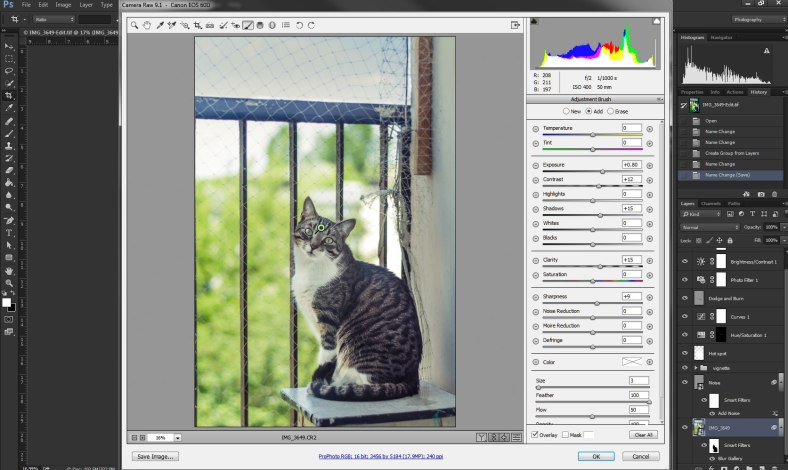 Editng-smart-object-in-camera-raw