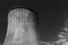 EC2 Cooling Tower Black and White