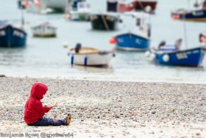 zeph on the beach
