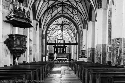 Gothic Chruch Renocation Gdansk