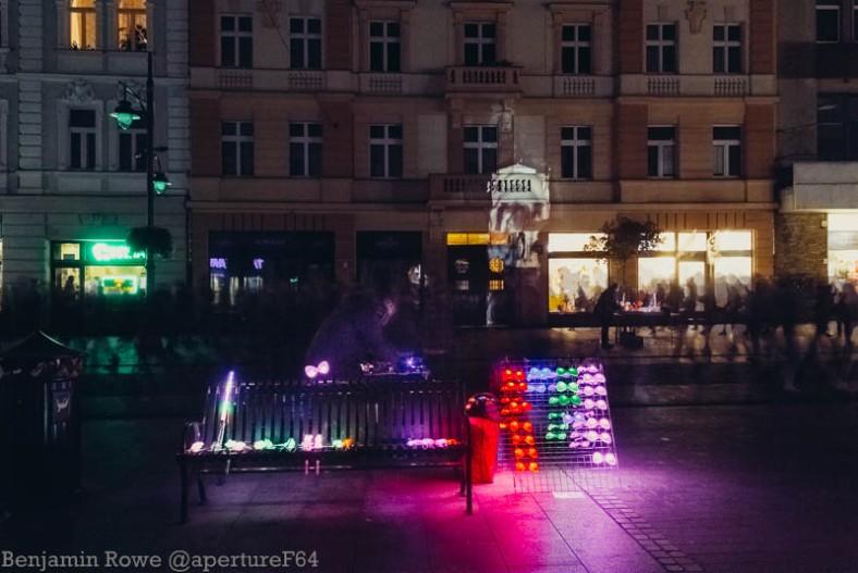 Light Move Festival Lodz Street Vendor