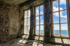 View through the wondow